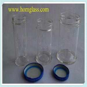 Heat Resistant Glass Milk Bottle Jar Storage by Pyrex Borosilicate Glass pictures & photos