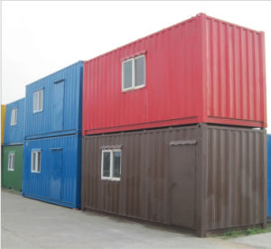 20 Feet Steel Structure Luxury Prefabricated Container House pictures & photos