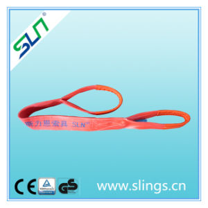 5t*8m Synthetic Flat Webbing Sling with Double Eye pictures & photos