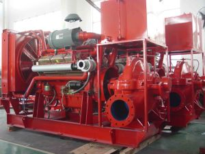 UL List Electric and Diesel Fire-Fighting Centrifugal Pumps with Jockey Pumps pictures & photos