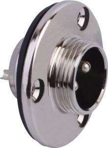Circular Cable Power Waterproof Connector (M16-2E)