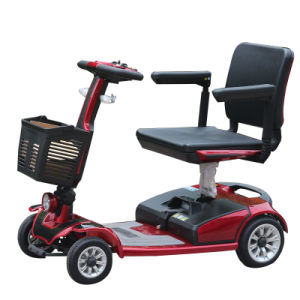 24V200W 4 Wheel Handicapped Tricycle for Disabled pictures & photos