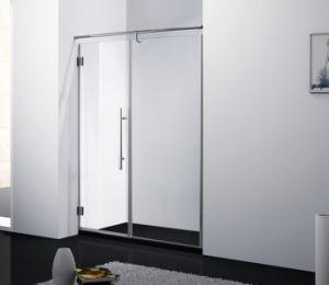 Hot Selling Hinge Shower Door 8mm Stainless Steel Shower Room Bathroom Accessories pictures & photos