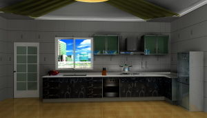 MDF Kitchen Cupboard (MK-003)