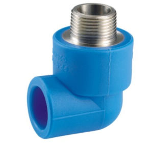 New PPR Water Supply Fittings Series Copper Male Elbow pictures & photos