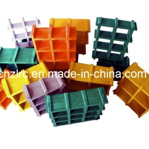 FRP Grating High Strength Corrosion Resistence Composite Pultrusion Grating pictures & photos