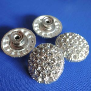 Transparent Diamond Button for Jeans Garment (SK00498) pictures & photos