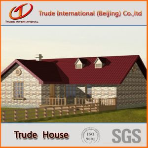 Fast Installation Modular Building/Mobile/Prefab/Prefabricated Steel Private Family House pictures & photos