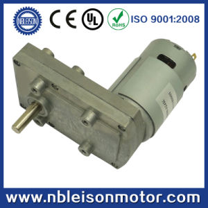 24V 12V High Toruqe Low Rpm DC Geared Motor pictures & photos
