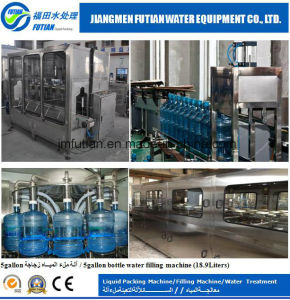 18.9L Purified Water Filling Line 1000-2000bph