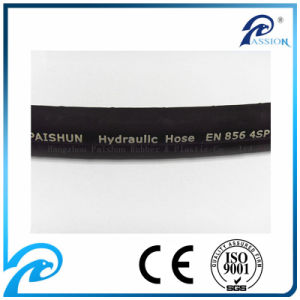 "3/4"" En856 4sp High Pressure Rubber Hydraulic Hose pictures & photos"