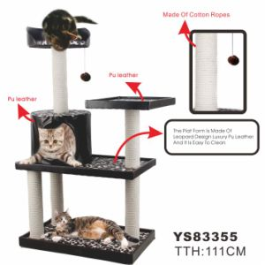 Fashion Cat Scratching Tree, Cat Toy (YL83355) pictures & photos