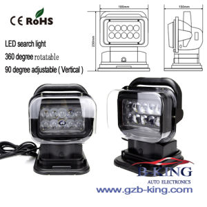 IP67 360 Degree Rotatable 50W CREE LED Search Light (BK-R02) pictures & photos