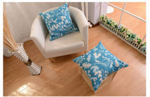 2015 New Designflower Printing Cushion pictures & photos