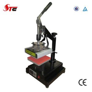 Manual Sublimation Logo Heat Press Machine (STC-TB01) pictures & photos