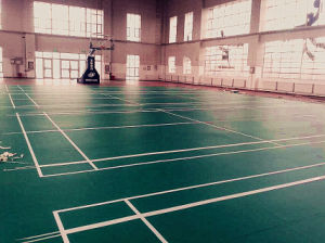 High Quality PVC Sports Flooring Used to Badminton Court pictures & photos