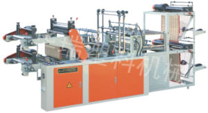 High Speed Vest Rolling Bag Making Machine pictures & photos