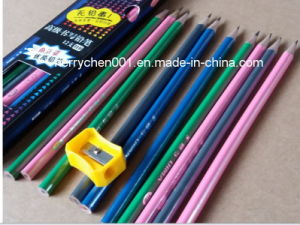 19cm Long Triangle Pencil, Sky-050 pictures & photos