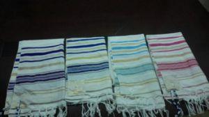 100% Cotton Tassel Two Spiral Hair Towel of Muslim Pilgrimage pictures & photos