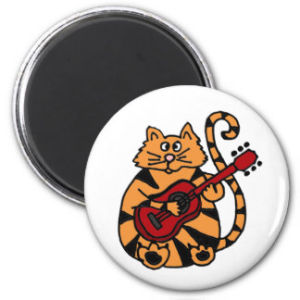 Funny Orange Cat Fridge Magnets pictures & photos