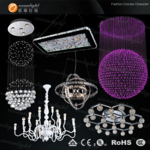 Indian crystal ceiling lamp OM05 pictures & photos
