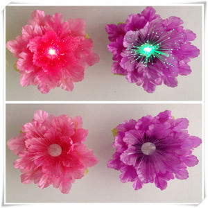 Color Changing Fiber Flower Christmas Light (VL15011) pictures & photos