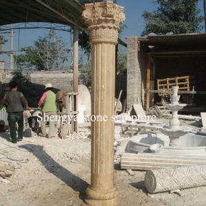 Sandstone Marble Column Stone Sculpture (SY-C021) pictures & photos