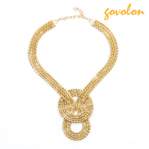 New Fashion Golden Alloy Necklace Chain pictures & photos