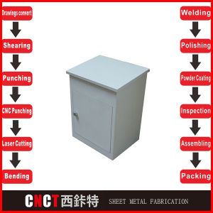 Hot Selling Best Quality Stainless Steel Mail Box with Lock pictures & photos