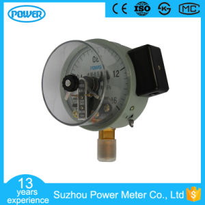 4′′ 100mm Black Steel Common Electric Contact Pressure Gauge pictures & photos