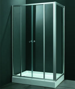 Hot Sale Rectagle White Acrylic Tray Cheap Shower Cubicle (SR9I007) pictures & photos