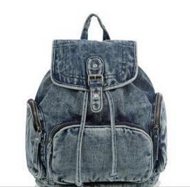 Women Shoulder Bag School Bag Cowboy Backpack