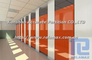 SGS HPL Compact Laminate Toilet Partition Customized Design (1)