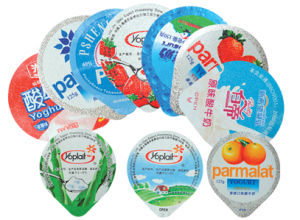 Dairy Products Packaging Aluminium Foil Lids
