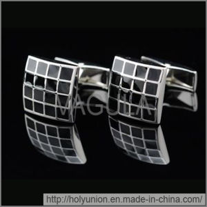 VAGULA French Cuff Links Designer Enamel Cufflinks (Hlk31721) pictures & photos