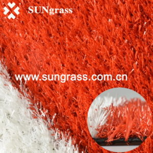 25mm Colorful Artificial Lawn for Landscape/Recreation/Garden (QDS-RBR) pictures & photos