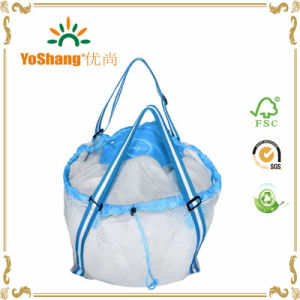China Mesh Beach Bag Best for Kids, Baby Toys Foldable Extra Large ...