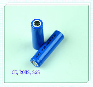 Li-ion Rechargeable 13450-600mAh for Wireless Microphones, Electronic Cigarette, Li-ion Battery