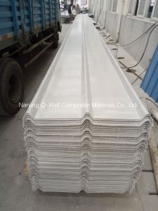 FRP Panel Corrugated Fiberglass/Fiber Glass Color Roofing Panels C172001 pictures & photos