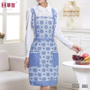 Patchwork Polyester Women Apron pictures & photos