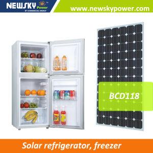 Solar Energy 176L 12V 24V Solar Fridge Freezer Refrigerator pictures & photos