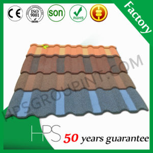 Stone Coated Metal Roof Sheet Colored Stone Tile Hot Sale Building Material pictures & photos