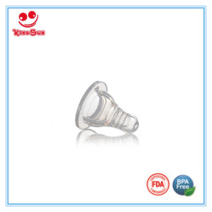 Transparent Silicone Rubber Baby Nipple for Feeding pictures & photos