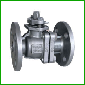 API Flange End Float Ball Valve pictures & photos
