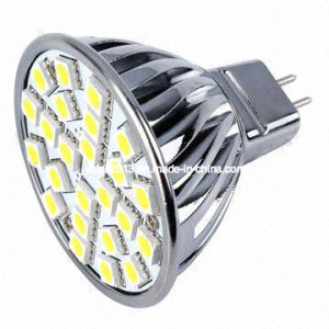 Dimmable 12V 24 5050 MR16 SMD LED Spotlight Bulb Lamp pictures & photos