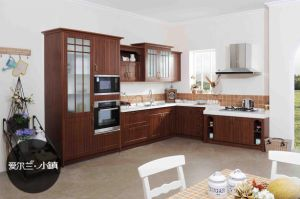 PVC Modular Modern Free Standing Kitchen Cabinet (zc-009) pictures & photos