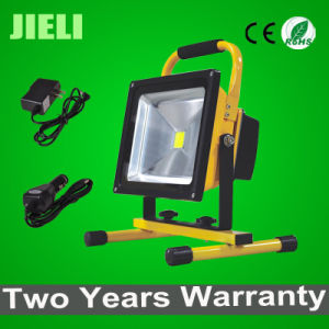 Outdoor Portable LED 50W 5.5h Working Time Rechargeable Flood Light pictures & photos