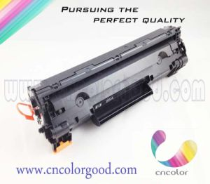 Promotional Ce285A Black Toner Cartridge for HP Original Printer pictures & photos