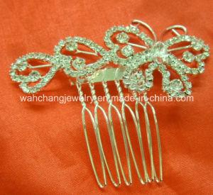 Rhinestone Tiara Hair Comb, Wedidng Tiara Hiar Comb, Fashion Tiara Hair Comb H-34095