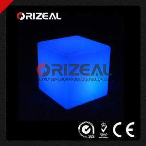 Mobile Glow Illuminated LED Cube Bar Stool (OZ-LF-2001) pictures & photos